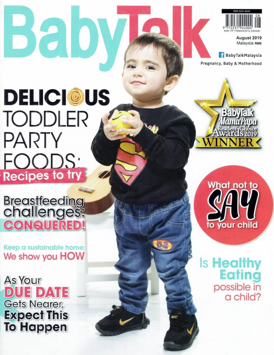BabyTalk Cover Aug 2019